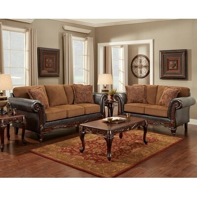 Casias Sofa and Loveseat Set