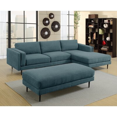 Dibiase Sectional Upholstery: Denim