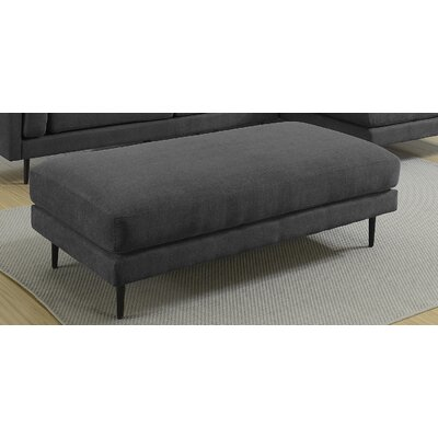 Dibiase Charcoal Ottoman Upholstery: Charcoal