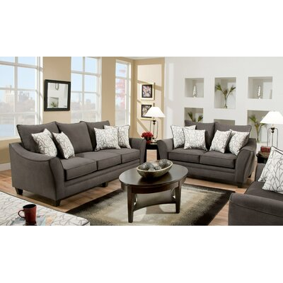 Yajaira 2 Piece Living Room Set