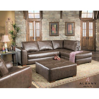 Prou Sectional Upholstery: Brown