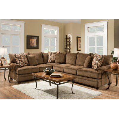Sealy Twill Sectional