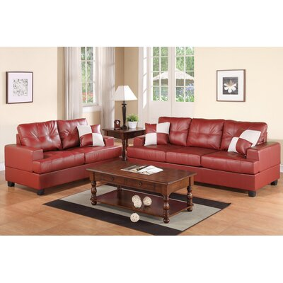 Rines 2 Piece Living Room Set