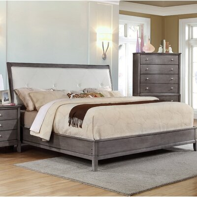 Tanya Upholstered Panel Bed Size: Queen