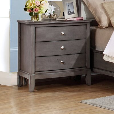Tanya 3 Drawer Nightstand