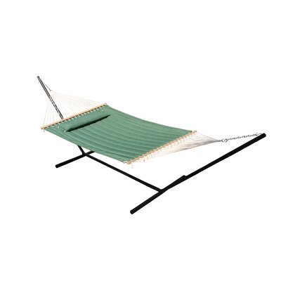Monte Carlo Double Quilted Hammock Color: Elm Green