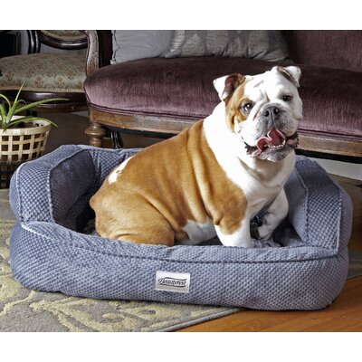 Beautyrest Colossal Rest Dog Bed Color: Silver
