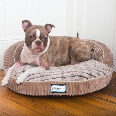 Beautyrest Ortho Sleep Orthopedic Memory Foam Pet Bed Size: 8 H x 26 W x 26 D