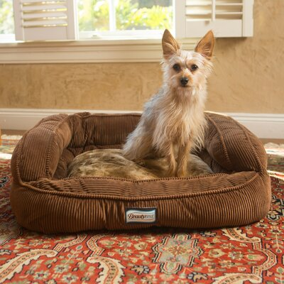 Beautyrest Colossal Rest Orthopedic Memory Foam Medium Dog and Cat Bed Color: Toasted Coconut