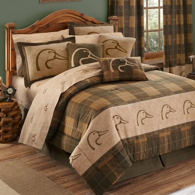Plaid Comforter Set Size: King