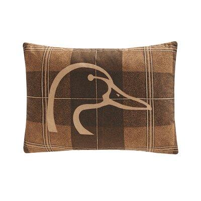 Plaid Lumbar Pillow