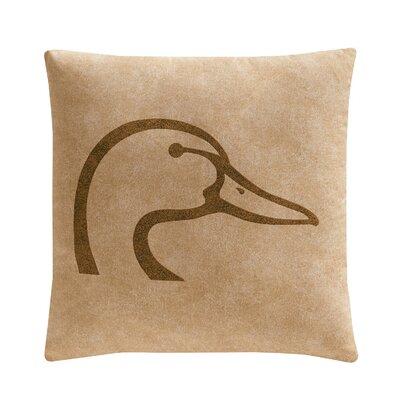 Plaid Throw Pillow Color: Tan