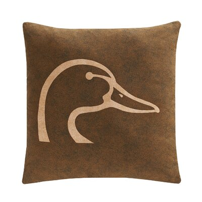 Plaid Throw Pillow Color: Brown
