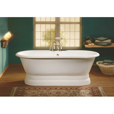 Regal 61 x 31 Soaking Bathtub Color: Biscuit Interior with Biscuit Exterior