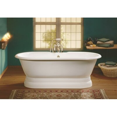 Regal 61 x 31 Soaking Bathtub Color: Biscuit Interior with Custom Exterior