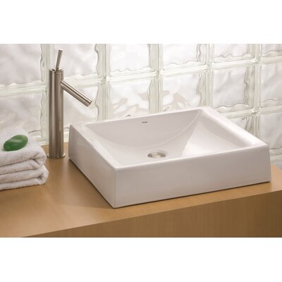 Pacific Vitreous China Rectangular Vessel Bathroom Sink