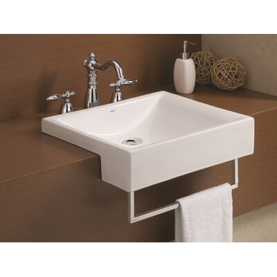Pacific Semi Cassa Rectangular Vessel Bathroom Sink