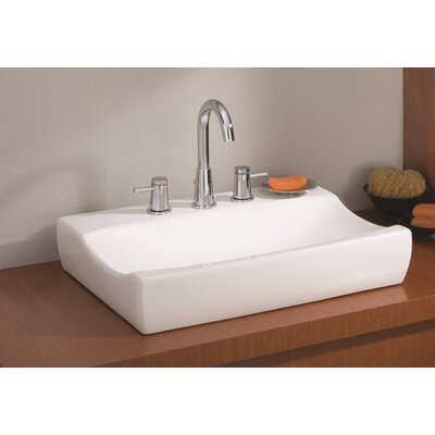 Atlantic Rectangular Vessel Bathroom Sink