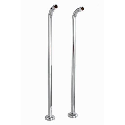 Free Standing Water Supply Line Finish: Chrome