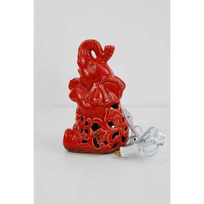 Elephant Night Light Color: Red