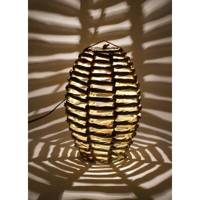 Blaire Beehive 1-Light Globe Pendant Size: 15 H x 12 W x 12 D