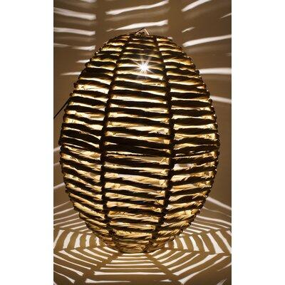 Blaire Beehive 1-Light Globe Pendant Size: 25 H x 16 W x 16 D