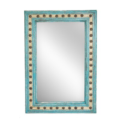 Salma Rectangle Wall Accent Mirror Size: 36