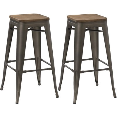 24 Bar Stool Finish: Copper