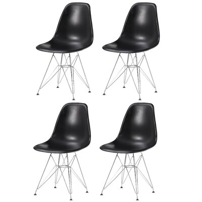 16 Side Chair Finish: Black