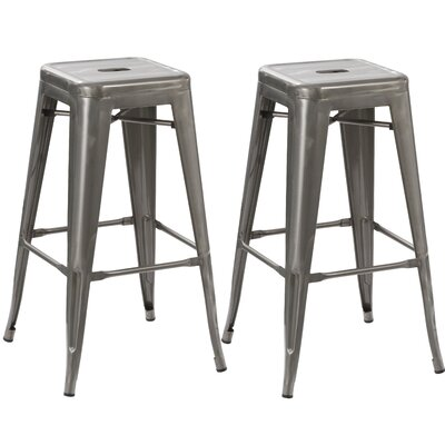 24 Bar Stool Finish: Clear