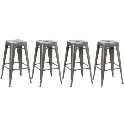 30 Bar Stool Finish: Distressed Metal