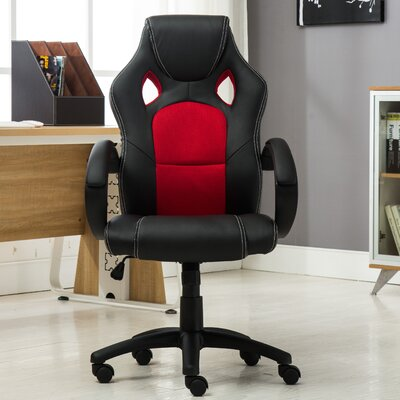 Executive High Back Leather Office Gaming Chair