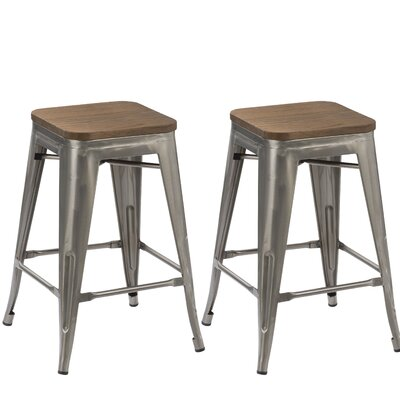 24 inch Stackable Bar Stool