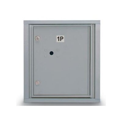 Aluminum 1 Unit High 4C Horizontal Parcel Locker N1029448