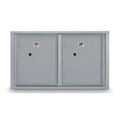 Aluminum 2 Unit High 4C Horizontal Parcel Locker N1029449