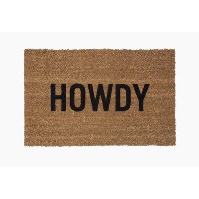 �Howdy Doormat