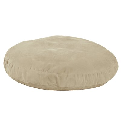 Round Dog Bed Size: 50 L x 50 W, Color: Linen
