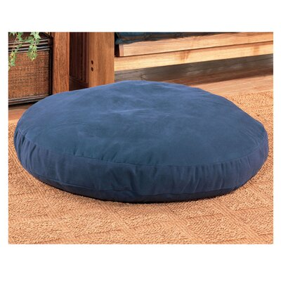 Round Dog Bed Size: 50 L x 50 W, Color: Navy