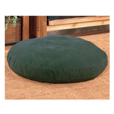 Round Dog Bed Size: 40 L x 40 W, Color: Green