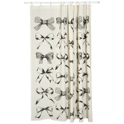 Prim and Proper 100% Cotton Shower Curtain