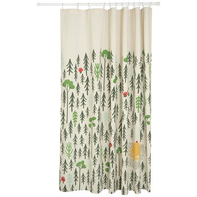 Retreat 100% Cotton Shower Curtain