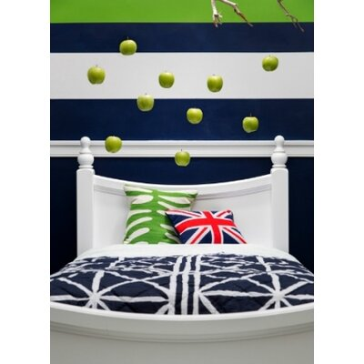 Jonah Panel Bed Finish: White, Size: Twin