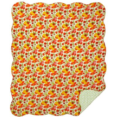 Daisy Cotton Throw Blanket