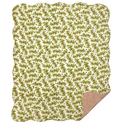 Holly Berrys Cotton Throw Blanket