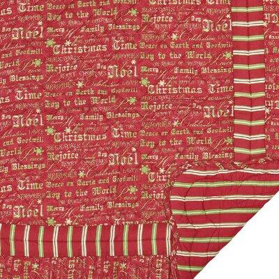 Christmas Time Cotton Throw Blanket