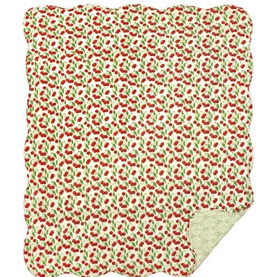 Kathy Cotton Throw Blanket