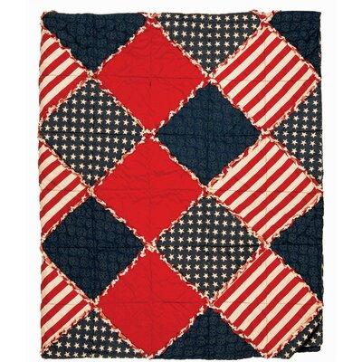Ross Rag Cotton Throw Blanket