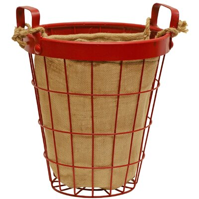 Wire Laundry Hamper Size: Small