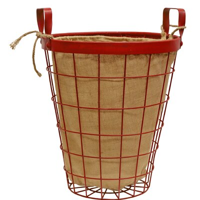 Wire Laundry Hamper Size: Large