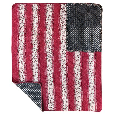 Allegiance Rag Cotton Throw Blanket
